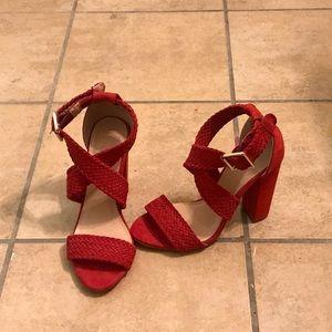 Charlotte Russe Red Heels